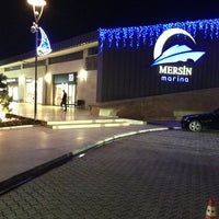 Photo taken at Mersin Marina by Gamze A. on 2/1/2013