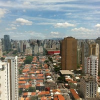 Photo taken at Mercure São Paulo Vila Olímpia by Maria Heloisa S. on 12/2/2012