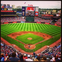 Photo taken at Turner Field by David F. on 7/13/2013