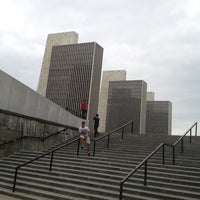 Photo taken at Empire State Plaza by Michael J. on 6/16/2013