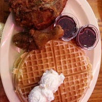 Photo taken at Roscoe's House of Chicken and Waffles - Long Beach by Dwight M. on 4/19/2013