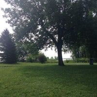 Photo taken at Parc de l'Île Lebel by Kelly S. on 8/7/2014