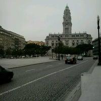 Photo taken at Avenida dos Aliados by Shalmai on 2/1/2013