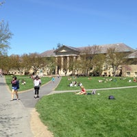 Photo taken at Arts Quad by Cat J. on 5/1/2013