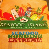 Photo taken at Blackbeard's Seafood Island by Randell A. on 1/19/2013