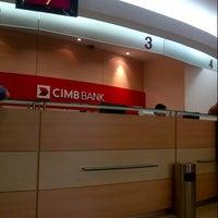 Photo taken at CIMB Bank by Juwita E. on 12/31/2013