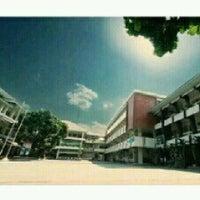 Photo taken at SMA Muhammadiyah 1 Yogyakarta by Ilham A. on 2/25/2013