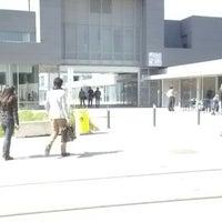 Photo taken at Université Lumière Lyon 2 - Campus Porte des Alpes by Lou A. on 5/13/2013