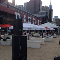 Photo taken at Beekman Beer Garden by Carlos G. on 8/5/2013