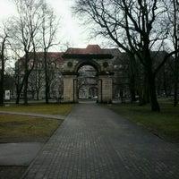 Photo taken at Triumfa arka | Aleksandra vārti by Sintija A. on 2/12/2014
