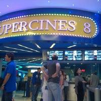 Photo taken at Super Cines 8 by Daniel V. on 1/28/2013