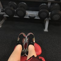 Photo taken at Fitness First by Yem L. on 5/10/2016