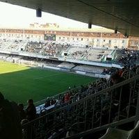 Photo taken at Estadio Municipal Castalia by Ismael B. on 5/1/2013
