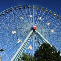 Photo taken at Texas Star Ferris Wheel by Robbi H. on 9/30/2012
