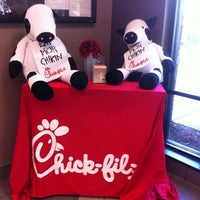 Photo taken at Chick-fil-A Peachtree at Collier by Bert D. on 10/10/2012