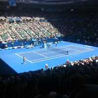 Photo taken at Rod Laver Arena by Scott H. on 1/23/2013
