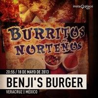 Photo taken at Benji's Burger by Aura L. on 5/19/2013
