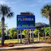 Photo taken at Florida Welcome Center (I-75) by Yeah Lets G. on 4/7/2013