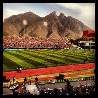 Photo taken at Estadio Tecnológico by Roke M. on 3/13/2013