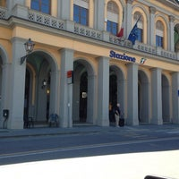Photo taken at Stazione Lucca by Erica P. on 5/14/2014