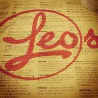 Photo taken at Leos Pizzeria by Elisa P. on 1/27/2013