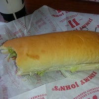 Photo taken at Jimmy John's by Marie R. on 5/14/2014