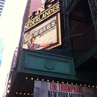 Photo taken at Nederlander Theatre by Cassie H. on 2/2/2013