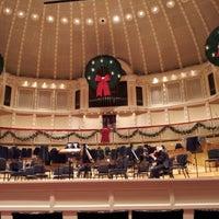 Photo taken at Symphony Center (Chicago Symphony Orchestra) by Daniel B. on 12/22/2012