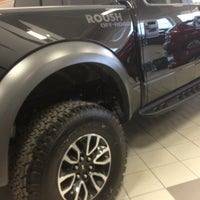 Photo taken at Luther Family Ford by Shawn D. on 4/3/2014