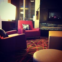 Photo taken at Aloft Milwaukee Downtown by Susan S. on 11/30/2012