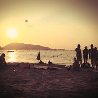 Photo taken at Gay Beach Patong by Alex E. on 1/7/2015