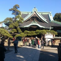 Photo taken at 柴又帝釈天 (経栄山題経寺) by minoritaire 緑. on 2/16/2013