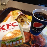 Photo taken at KFC by Mona on 1/27/2014