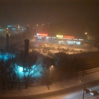 Photo taken at Площа Перемоги / Peremogy square by Екатерина on 1/27/2014