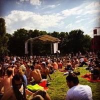 Photo taken at La Villette Sonique by Rod R. on 6/8/2014