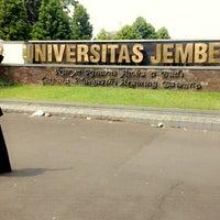 Photo taken at Universitas Jember by Mita Q. on 5/17/2014