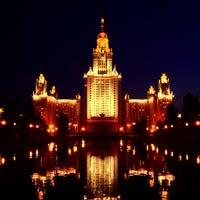 Photo taken at МГУ им. М. В. Ломоносова by Karina P. on 8/18/2013