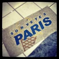 Photo taken at Sorveteria Paris by Jefferson M. on 11/2/2012