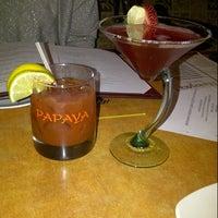 Photo taken at Papaya by Christine M. on 1/6/2013