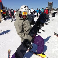 Photo taken at Sommet du Mont-Tremblant Summit by Phil H. on 3/9/2013