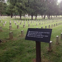 Photo taken at Stones River National Cemetery by Geoff J. on 5/26/2016