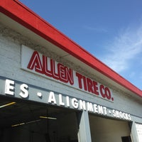 Photo taken at Allen Tire Company by Bruce L. on 4/3/2013