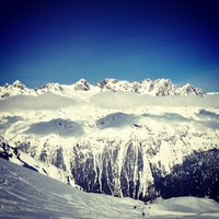 Photo taken at Les Grands Montets by Jakop D. on 3/22/2013