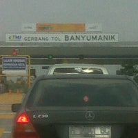Photo taken at Tol banyumanik semarang by Saptedi H. on 9/7/2014