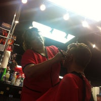 Photo taken at The Professionals Barber Shop by Kevin Anthony P. on 5/11/2013