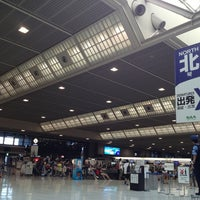 Photo taken at Departure Hall - NRT Terminal 2 by Midori F. on 7/9/2013