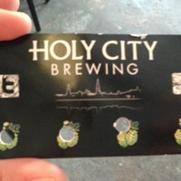 Photo taken at Holy City Brewing by Susie A. on 4/11/2013