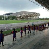 Photo taken at Stadium Mini Shah Alam by Papa Q. on 5/7/2016