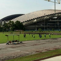 Photo taken at Stadium Mini Shah Alam by Papa Q. on 5/8/2016