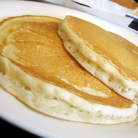 Photo taken at Pancakes R Us by OC Weekly on 8/4/2014